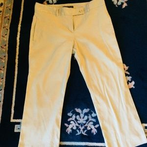 Theory Beige Capri Pants, Size 4